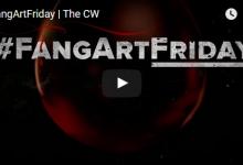 The Vampire Diaries: #FangArtFriday