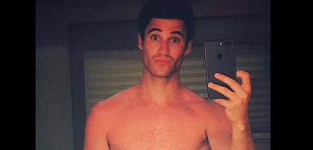 Darren Criss NUDO su Instagram!