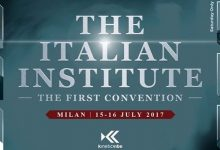 The Italian Institute: The First Convention
