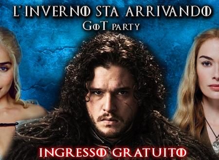 L'inverno sta arrivando: il GOT party a Firenze