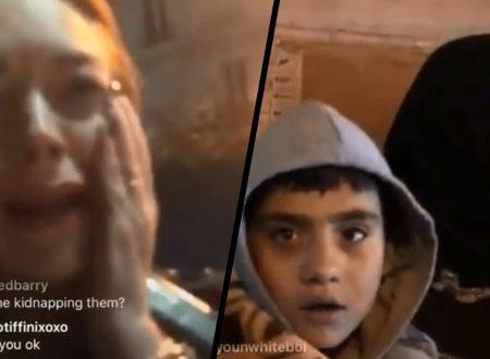 Lindsay Lohan picchiata per aver cercato di aiutare bambini che credeva vittime di trafficanti