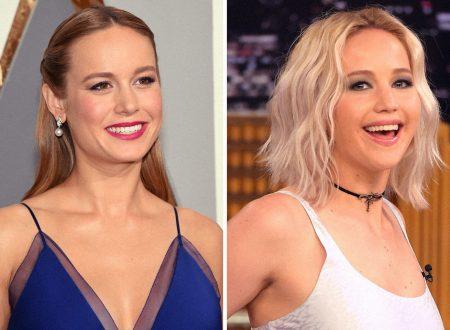 Brie Larson chiede consiglio a Jennifer Lawrence