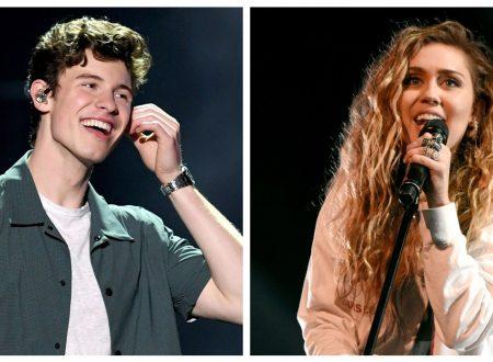 Il nuovo brano di Miley Cyrus e Shawn Mendes