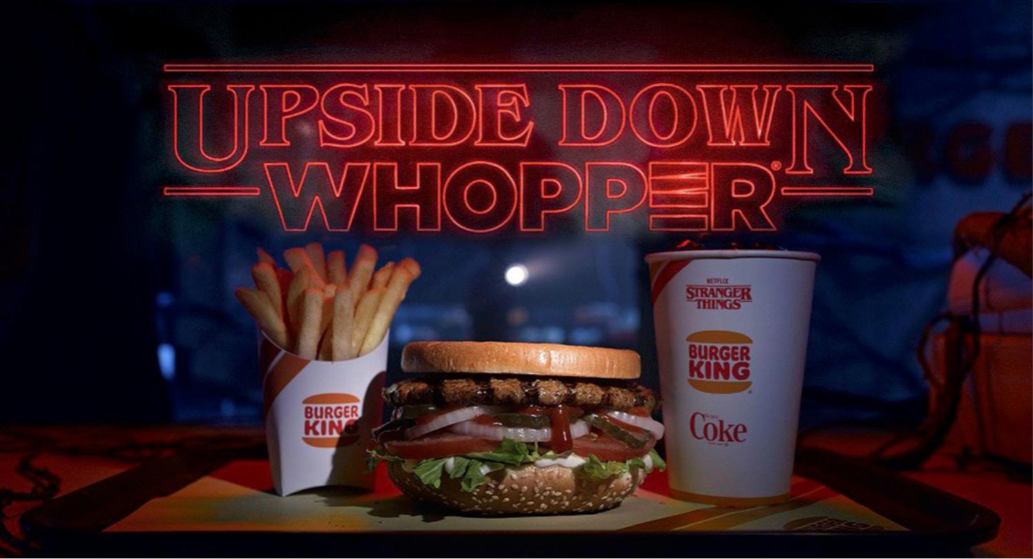 Stranger Things x Burger King