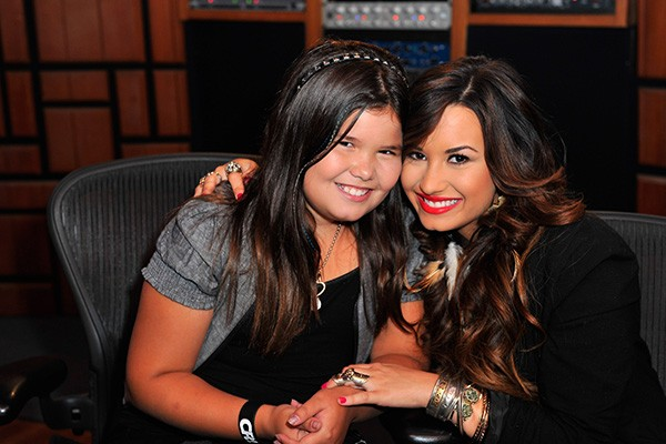 demi lovato madison de la garza