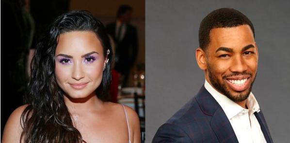 Demi Lovato e Mike Johnson