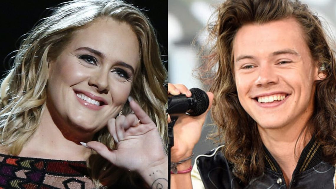 Harry Styles e Adele: i fan pensano ad una possibile collaborazione, dopo che sono stati visti in vacanza insieme!
